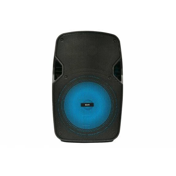 QTX PAL15 Portable PA Speaker with Bluetooth and LED FX