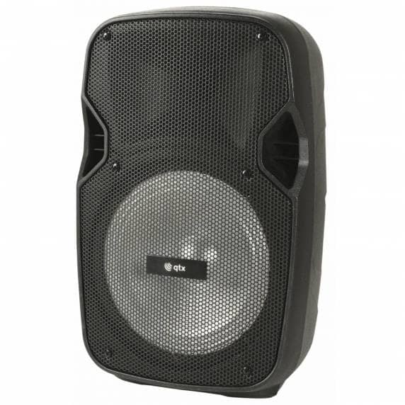 QTX PAL8 Portable PA Speaker with Bluetooth and LED FX