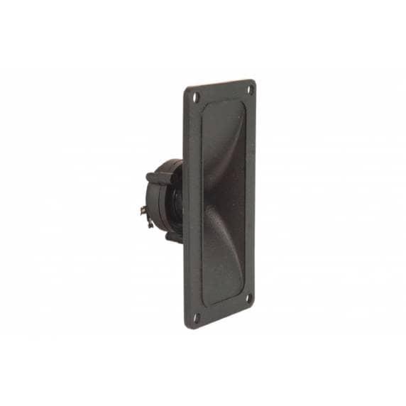 QTX Piezo Horn Tweeters, Max Power 150W, 67 x 145 x 50mm