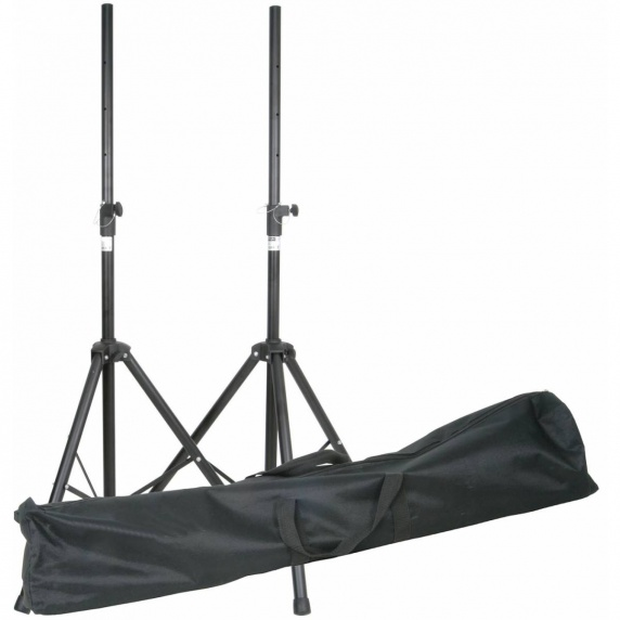 QTX Sound High Quality Speaker Stand with Bag For DJ Disco and PA