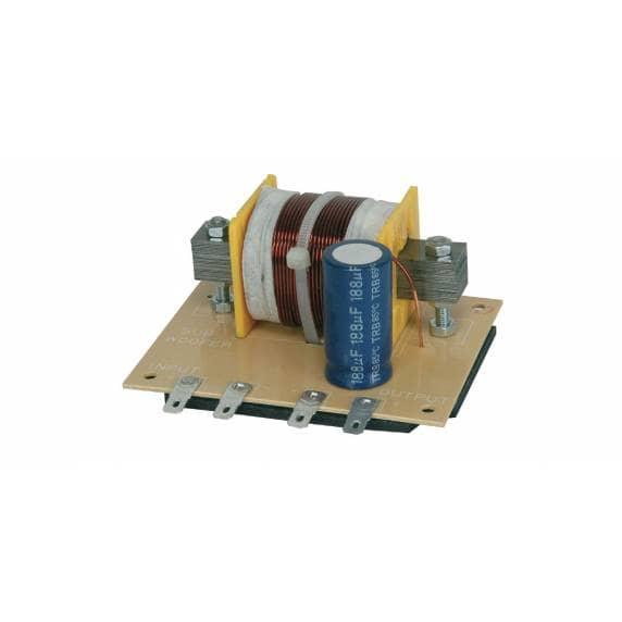 QTX Subwoofer filter - 12dB, 120Hz, 4 Ohms, 400W
