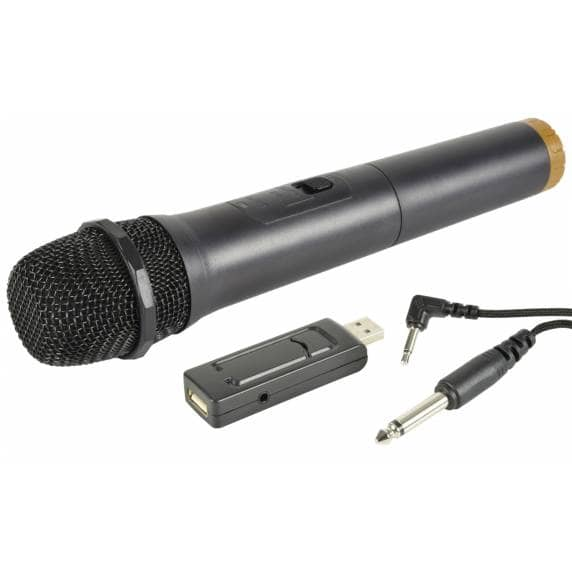 QTX U-MIC - Wireless Handheld Microphone with USB Receiver (863.2MHz)