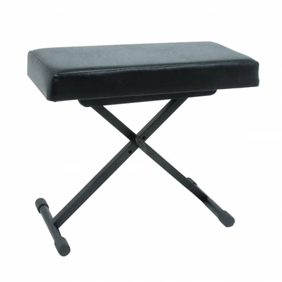 Quik Lok B-X8 Keyboard Bench with Extra Comfy Vinyl Seat