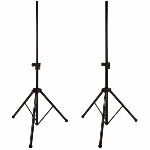Quik Lok SP282 Easy Lift Air Cushioned Speaker Stands (Pair)