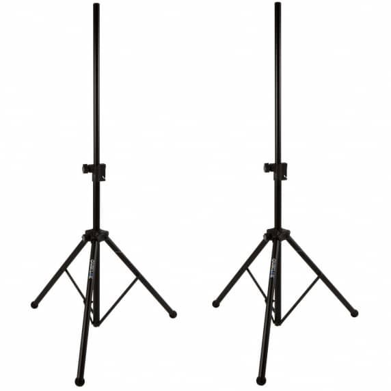 Quik Lok SP282 Easy Lift Air Cushioned Speaker Stands (Pair)