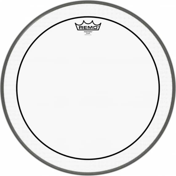 "Remo 16"" Clear Pinstripe Tom/Snare Batter Head"