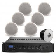 "Restaurant Background Music System - 6x Bosch 6"" Ceiling Speakers"