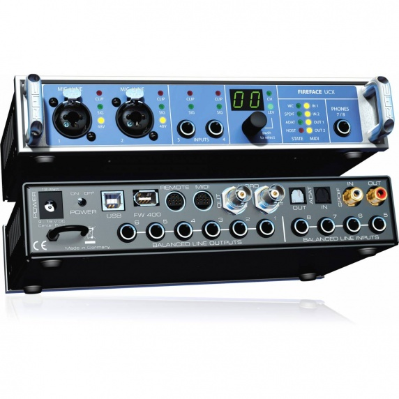 rme fireface ucx usb firewire ipad audio interface rme from inta audio uk. Black Bedroom Furniture Sets. Home Design Ideas