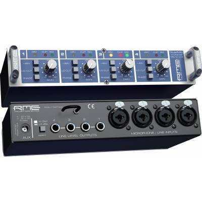 RME Quadmic - 4 Channel Mic PreAmp