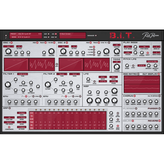 Rob Papen B.I.T (Serial Download)