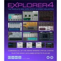 Rob Papen Explorer 4 UPGRADE From Explorer 3 (Serial Download)