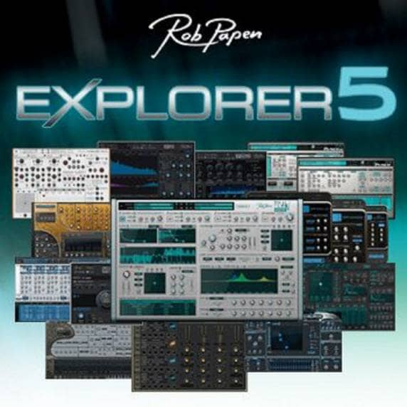 Rob Papen eXplorer 5 XGRADE from 4 RP Products (Serial Download)