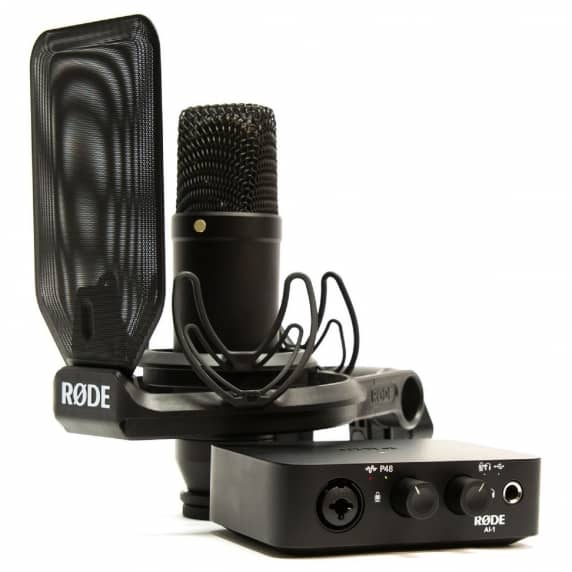 Rode AI-1 USB Audio Interface Bundle with NT1 Mic