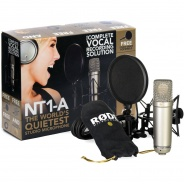 Rode NT1-A Vocal Pack Condenser Microphone - B Stock