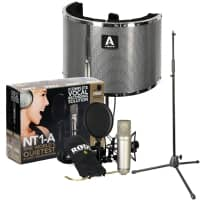 Rode NT1-A Vocal Recording Pack with Vocal Booth and Mic Stand