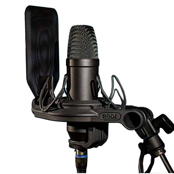 RODE NT1 Kit - Condenser Microphone Shockmount and Popshield