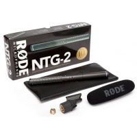 Rode NTG-2 Shotgun Condenser Microphone - B Stock