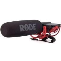RODE VideoMic R Shotgun Microphone with Rycote Lyre Shockmount - B STOCK