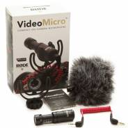 Rode VideoMicro On Camera DSLR Shotgun Microphone