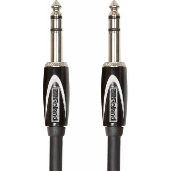 """Roland 10FT / 3M Interconnect Cable, 1/4"""" TRS-1/4"""" TRS, Balanced"""