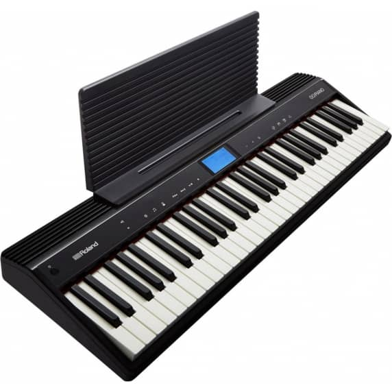 Roland GO:Piano – Ultimate 61 Key Bluetooth Keyboard for Learning Pianists