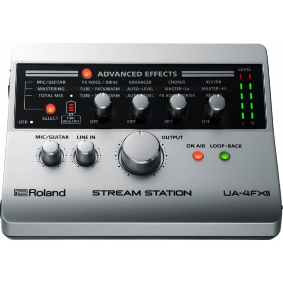 Roland UA-4FX2 Stream Station – USB Webcasting Audio Interface