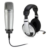 Samson C01U Pro USB Mic & HP10 Headphone Kit