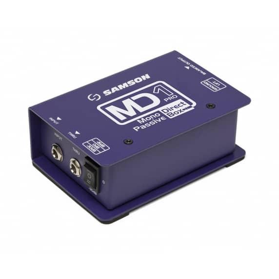 Samson MD1 Pro Mono Passive Direct Box