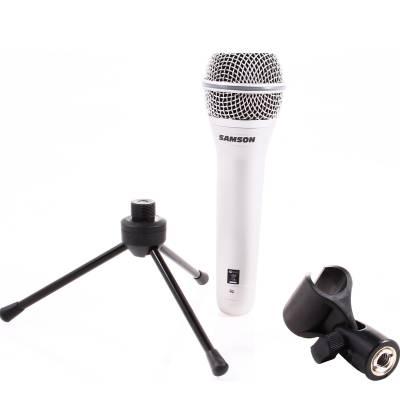samson q1u dynamic usb microphone for vocal recording includes stand software. Black Bedroom Furniture Sets. Home Design Ideas
