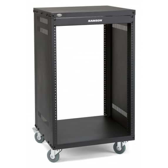 "Samson SRK16 - 16-space 19"" Studio Equipment Rack"