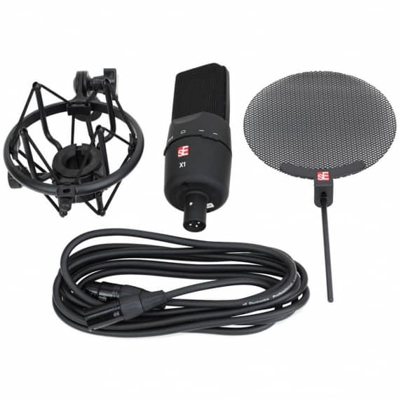 sE Electronics X1 Studio Recording Vocal Pack