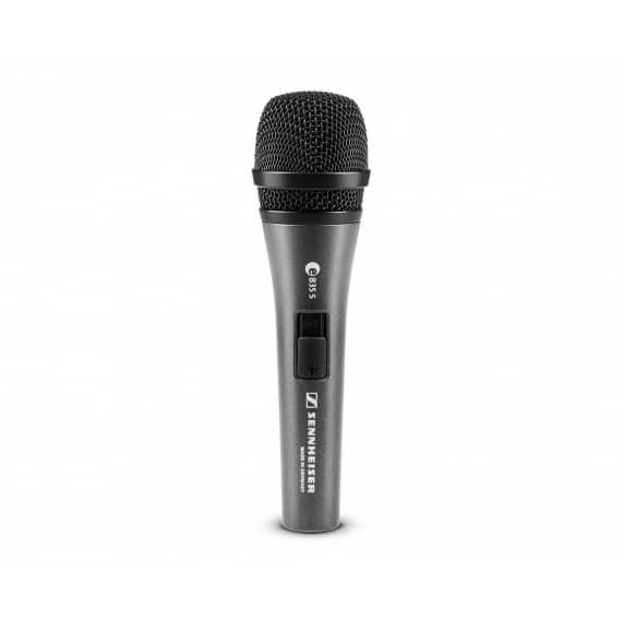 Sennheiser E835S Cardioid Dynamic Microphone + Switch