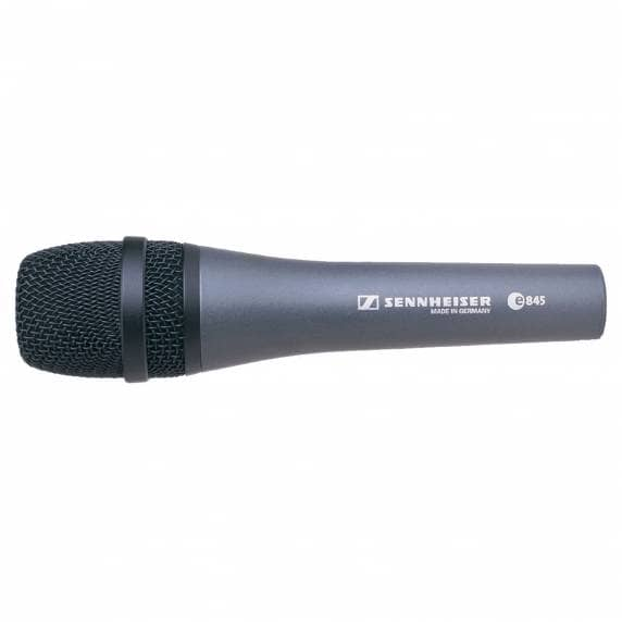 Sennheiser E845 Supercardioid Dynamic Vocal Microphone