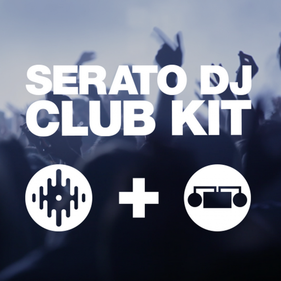 Serato DJ Club Kit - Serato DJ & DVS Expansion Pack  (Serial Download)