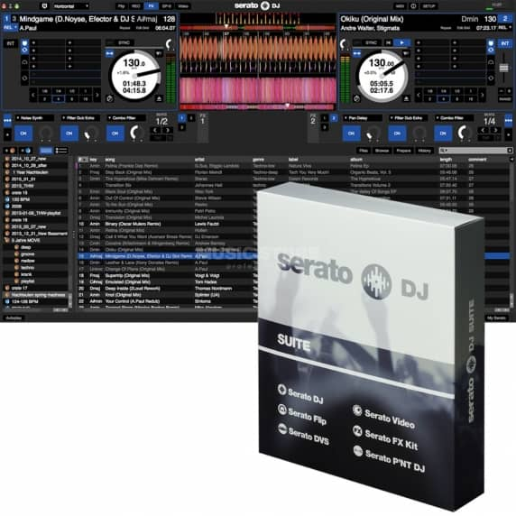 Serato DJ Suite - All-In-One Suite for Serato DJ  (Serial Download)