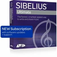 Avid Sibelius Ultimate 2020 Annual Subscription RENEWAL (Serial Download)