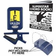 Snark Napoleon N5 Clip On Tuner for Guitar/Bass - With Pick Holder