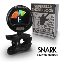 Snark SN5X Limited Edition - Clip-On Tuner for Guitar, Bass and Violin