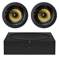 "Sonos Amp + Lithe Audio 6.5"" Ceiling Speakers (Pair)"