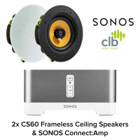 "Inta Audio Sonos Connect Amplifier with 2x 6.5"" Ceiling Speakers"