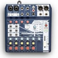 Soundcraft Notepad-8FX Analogue Mixer - B Stock