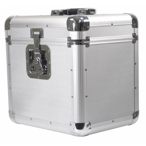 Soundlab High-Quality Euro Style Album Case 70 Records - Silver