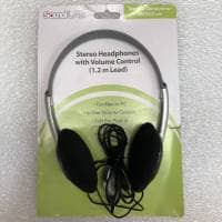 SoundLAB Lightweight Stereo Headphones with Volume Control (B-Stock)