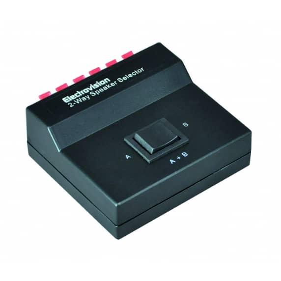 speaker selector switch for 2 speakers