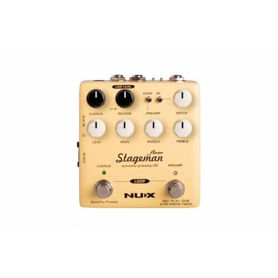 Stageman Floor Acoustic Preamp DI Pedal
