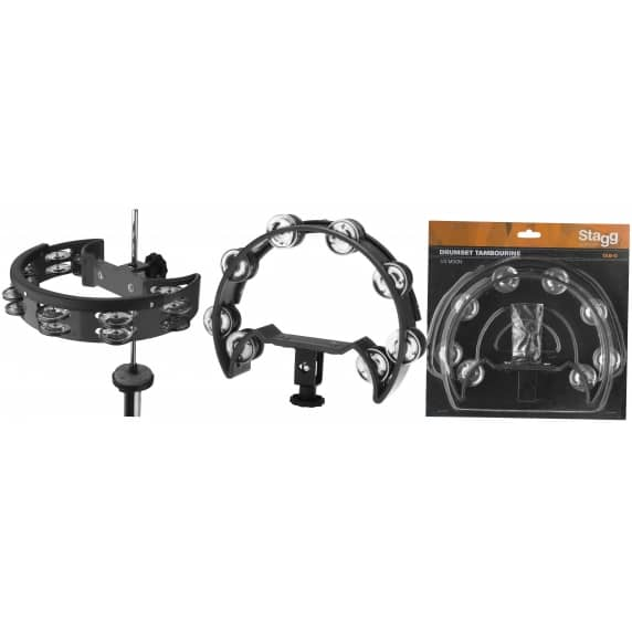 Stagg 1/2 Moon Drumset Tambourine