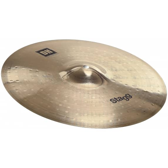 "Stagg 16"" Medium Dual Hammered Crash Cymbal"
