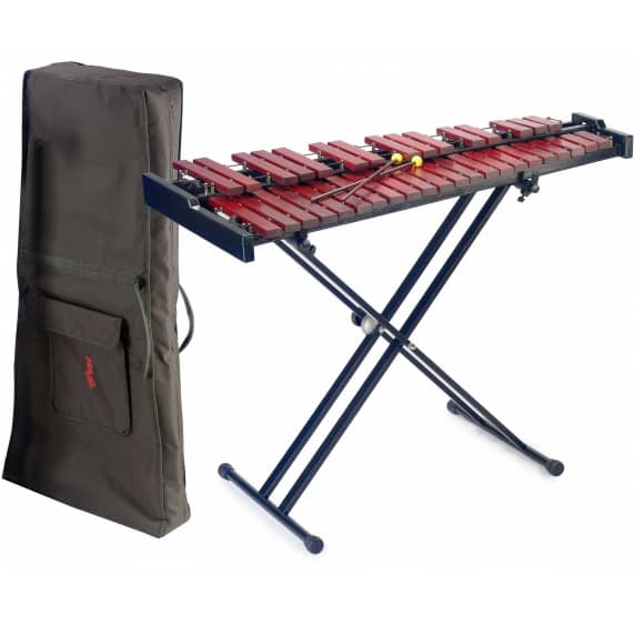 Stagg 37 Key Pro Xylophone with Stand & Bag - High Grade