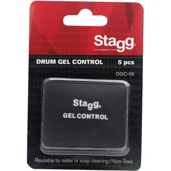 Stagg 5 Gel Control/Drum Dampener Pads