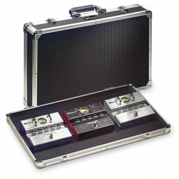 Stagg ABS case for guitar effect pedals